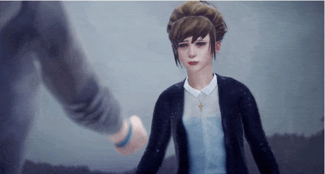 The heart wrenching scene with Kate in Life is Strange. Those who've played know what's going on here. The choice you make here determines what happens to her next.