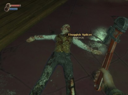 My first Splicer kill in Bioshock.