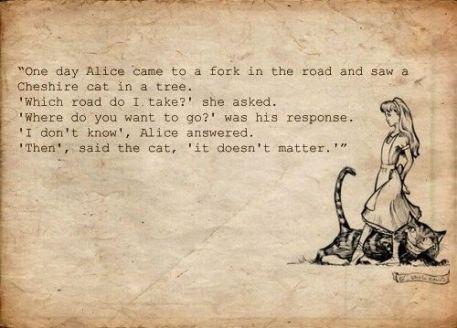 Alice in Wonderland Passage