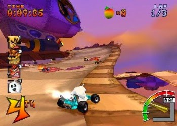 Crash Team Racing Bear Racing