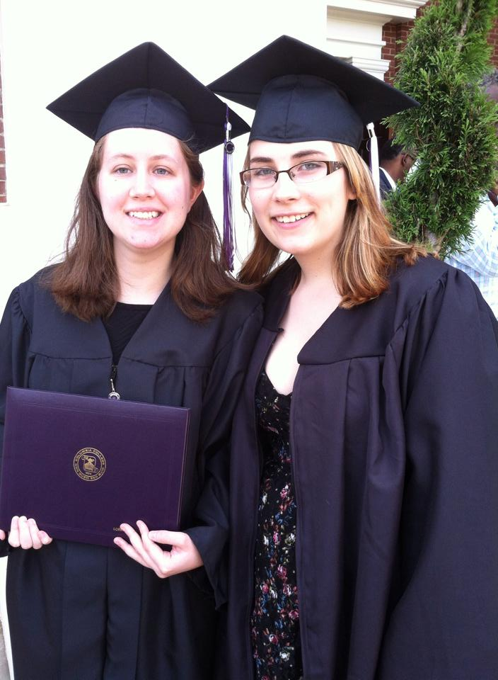 CC Graduation Image with Maria