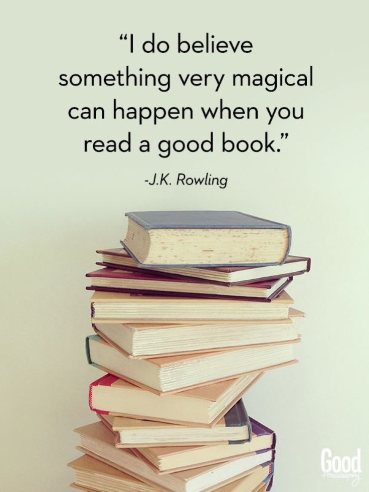 JK Rowling Quote About Books
