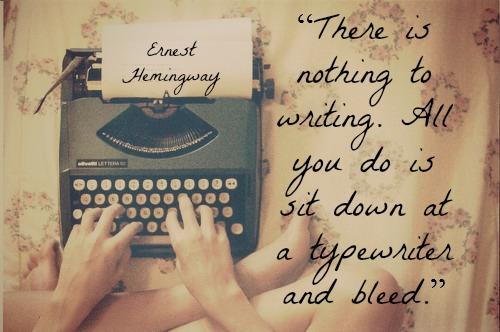 HemingwayWritingQuote