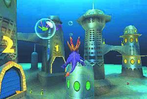 Spyro 2 Ripto's Rage Aquaria Tower