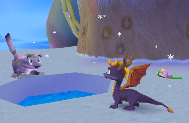 Spyro 2 Ripto's Rage Crystal Glacier