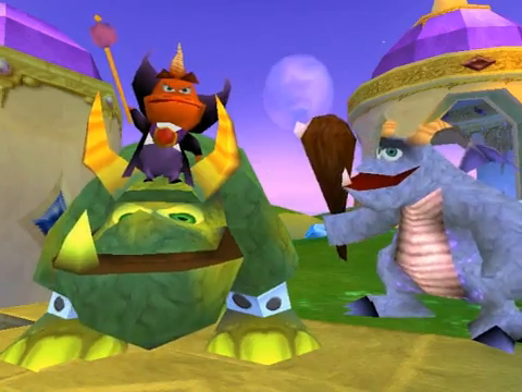 Spyro 2 Ripto's Rage Ripto Crush Gulp
