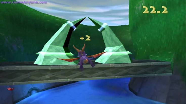 Spyro the Dragon PS1 Flying Level