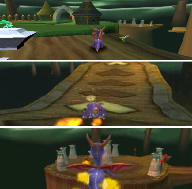 Spyro the Dragon PS1 Tree Tops