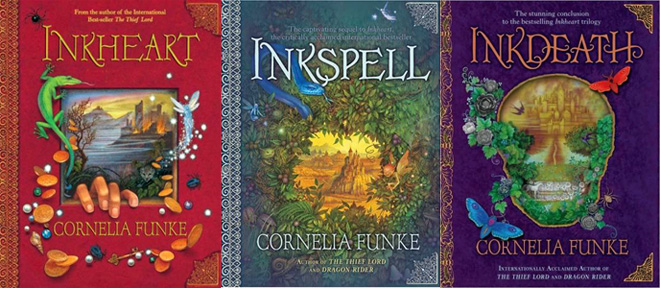 Inkworld Trilogy Book Covers