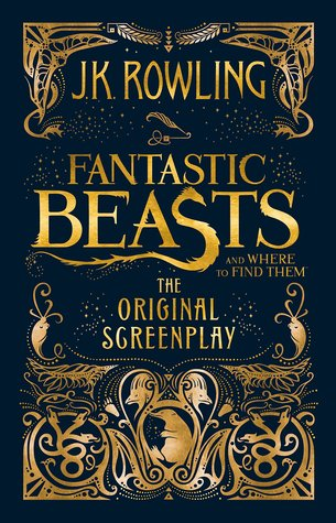 Fantastic Beasts and Where to Find Them Original Screenplay Book Cover