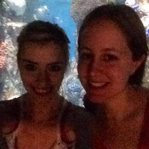 Erin and I At the Zoo June 2014