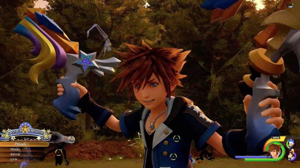 Kingdom Hearts 3 Form Change