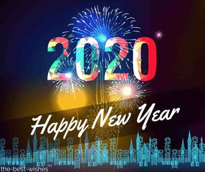 2020 Happy New Year Pinterest